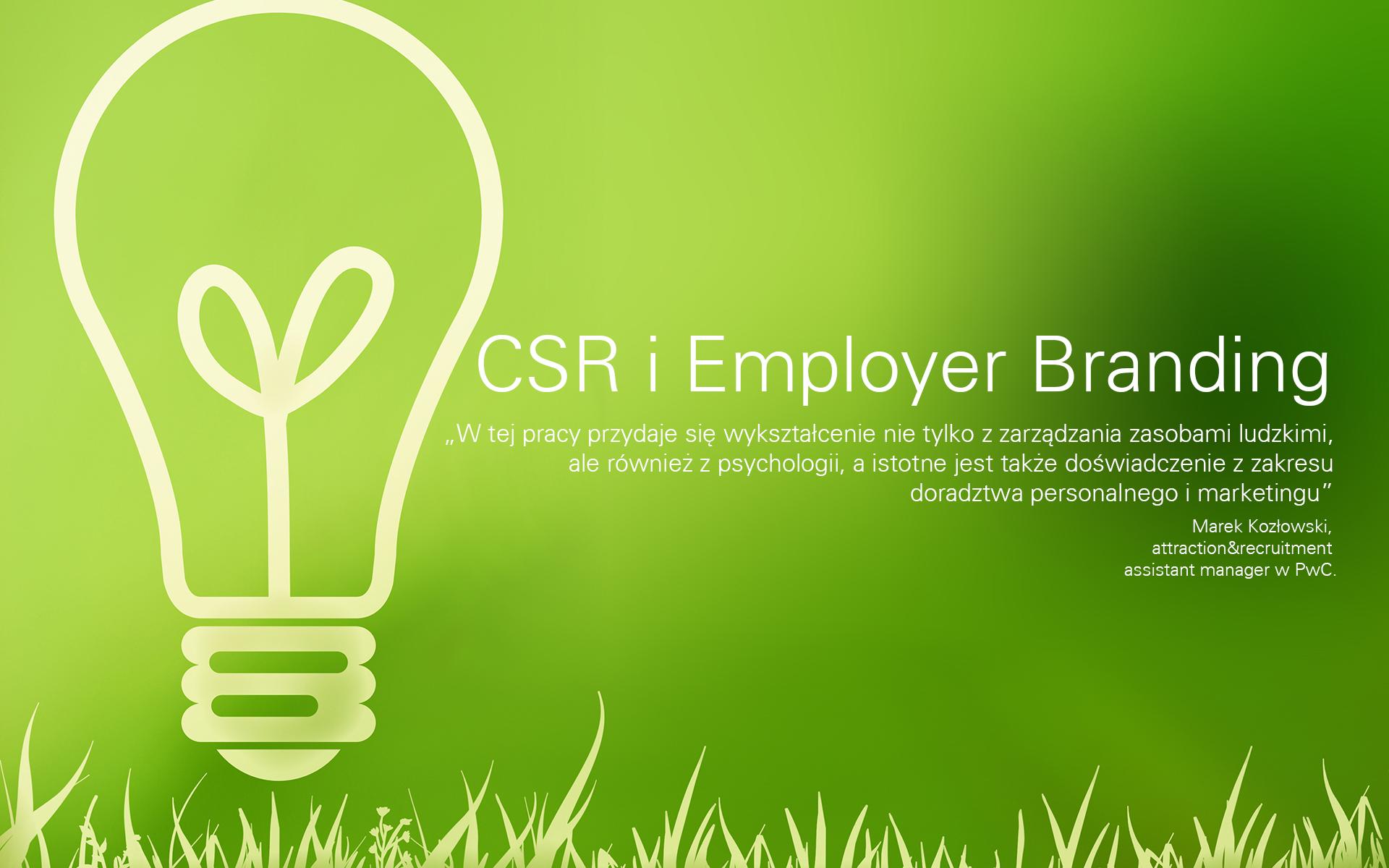 Oferty pracy w CSR i Employer Brandingu