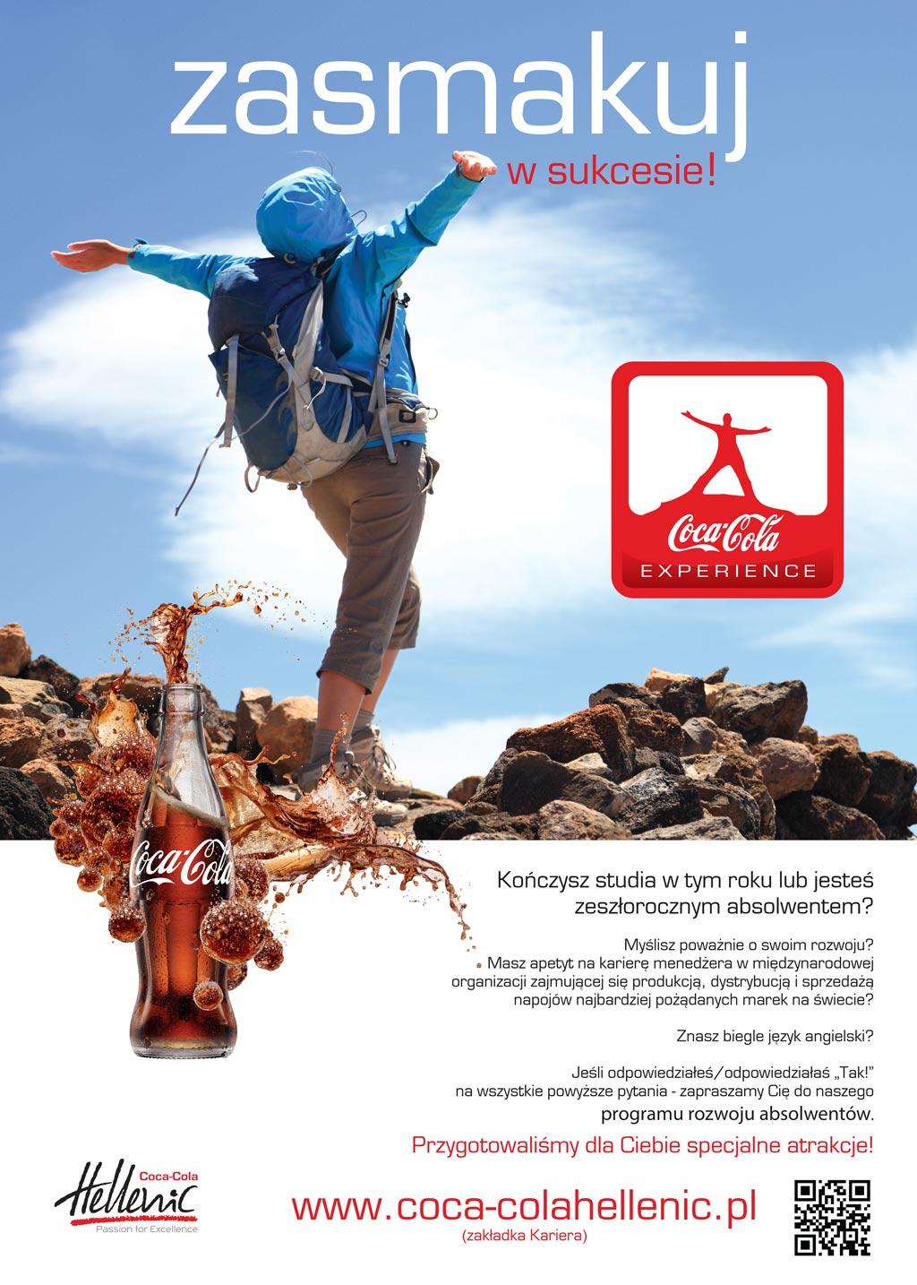 Coca-Cola Experience - program stażowy dla studentów i absolwentów