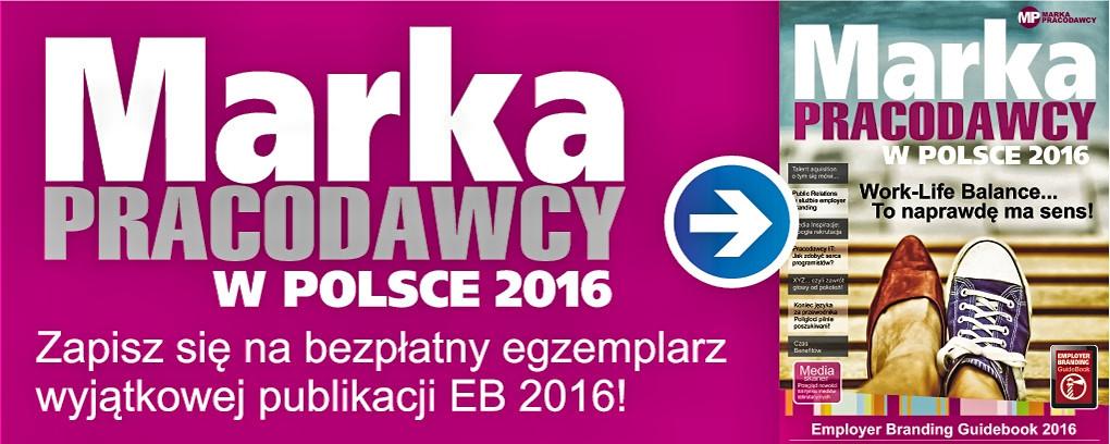 Marka Pracdoawcy w Polsce 2016