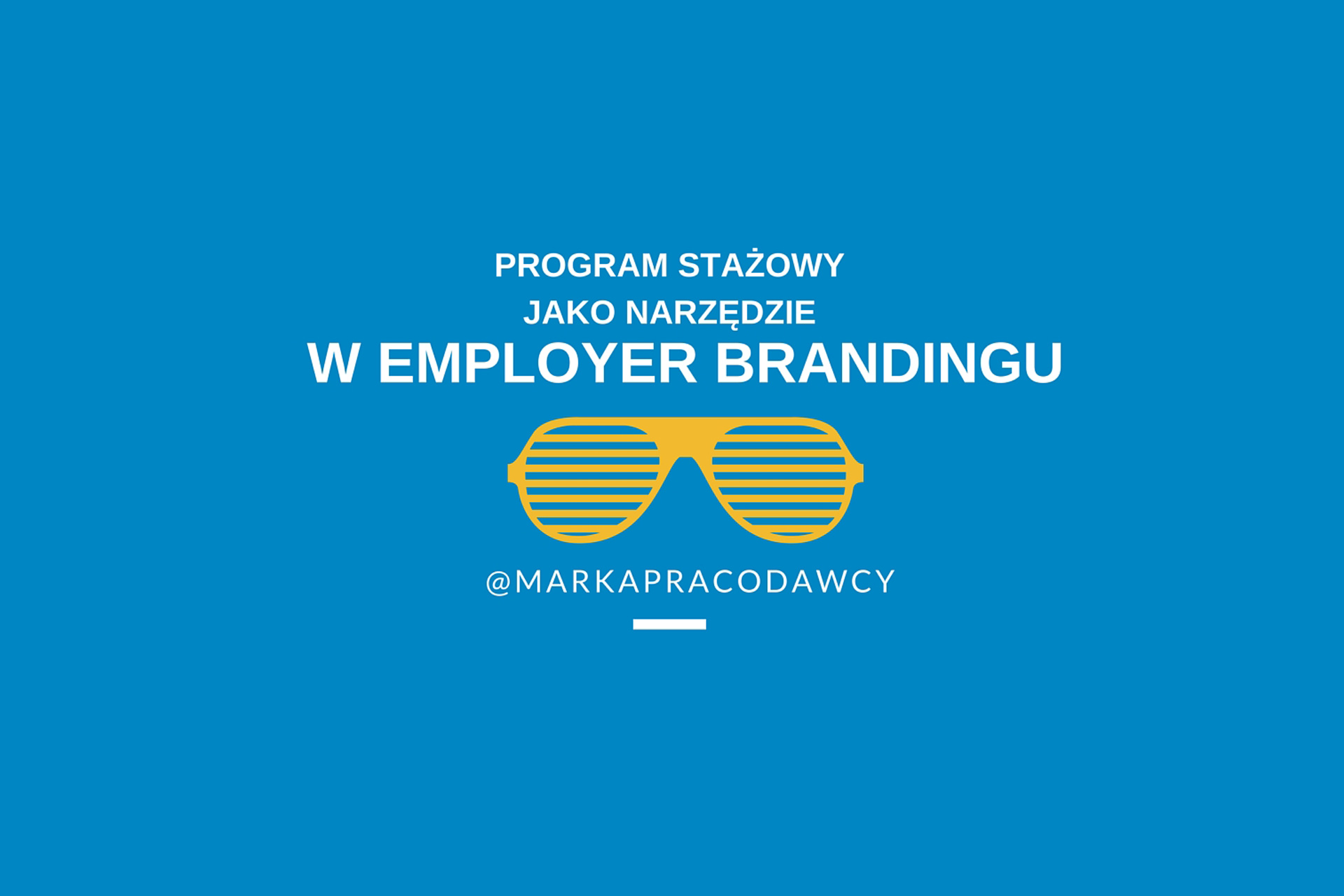 staż program a employer branding