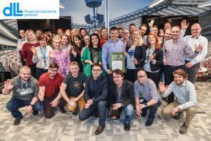Nagroda Friendly Worklplace DLL - Financial Solutions Partner 1