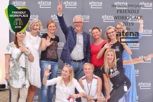 Atena praca Friendly Workplace
