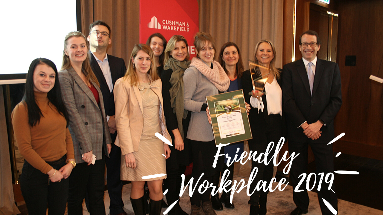 CUSHMAN WAKEFIELD Friendly Workplace