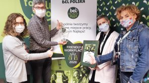 BEL Polska Friendly Workplace 2020