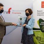 Ministerstwo-Finansów-z-godłem-Friendly-Workplace-2